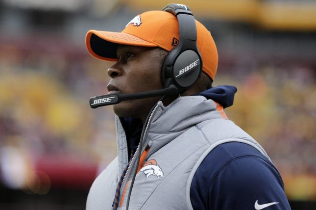 No full-time coach has ever been dismissed after one season with the Denver Broncos, but reports indicate that Vance Joseph could be the first. Photo courtesy of Denver Broncos/Twitter