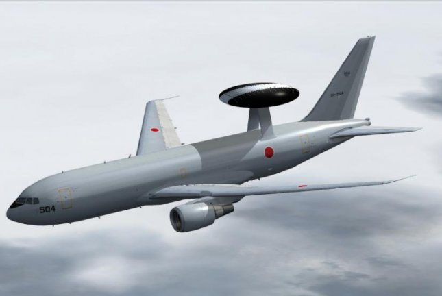 Boeing has been contracted for upgrades to four Japanese E-767 Airborne Warning and Control System aircraft. Photo courtesy of Boeing