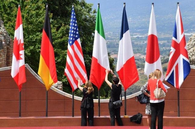The G7 central banks and ministries said they will maintain close contact and share information to properly respond to the changing conditions of the pandemic. File Photo by Ettore Ferrari/EPA-EFE