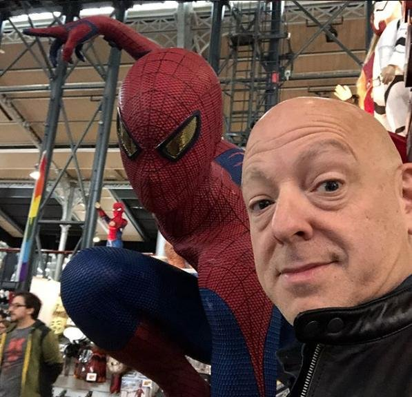 Comic book writer Brian Michael Bendis is leaving Marvel to join DC Comics. Photo courtesy of Bendis/Instagram