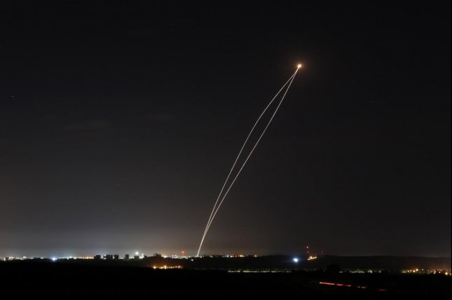 The IDF attack was a response to rocket fire from Gaza Tuesday, officials said. File Photo by Abir Sultan/EPA-EFE