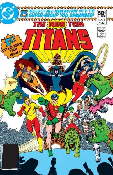 The cover to issue No. 1 of The New Teen Titans. A new live-action series based on the Teen Titans titled Titans, along with the animated Young Justice Season 3, are set to debut on a new DC Comics streaming service. Photo courtesy of Warner Bros.