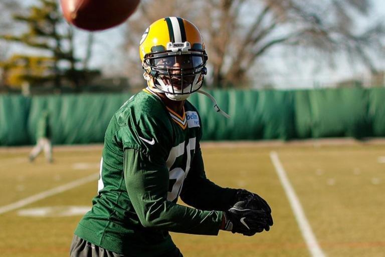 Green Bay Packers linebacker Ahmad Thomas. Photo courtesy of the Green Bay Packers/Twitter.