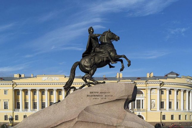 The Bronze Horseman in St. Petersburg. Russia expelled Ukrainian diplomat Consul Ihor Fedikevych who worked for the Consulate in St. Petersburg in a response to a similar move made by Ukrainian authorities in July. Photo by Godot13/WikiCommons
