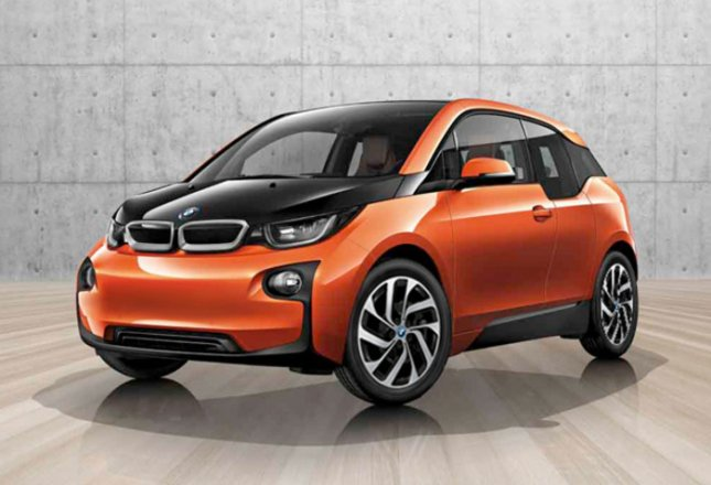 BMW unveiled its i3 electric car with a starting price of $42,275, including a $925 destination charge. The 170-hp electric motor can propel the i3 from 0-60 mph in 7 seconds with a top speed of 93 mph. The compact has a battery range of 80-100 miles. (Photo Courtesy of BMW)