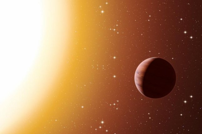 Researchers believe hot Jupiters form farther away and later migrate closer to their host stars. Photo by ESO/L. Calçada
