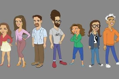 Lin-Manuel Miranda, Gloria Estefan and Melissa Fumero will guest star on a special animated episode of Pop TV's One Day at a Time on June 16. Image courtesy of Pop TV