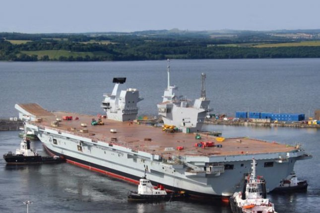 One of Britain's two new Queen Elizabeth-class carriers under construction. Photo courtesy Aircraft Carrier Alliance