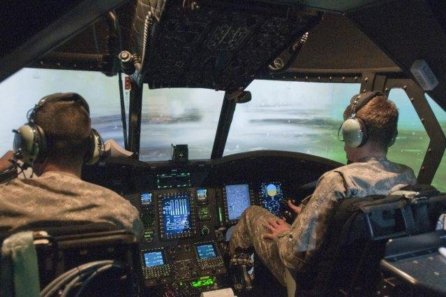 Britain orders training simulators for Chinook, Merlin helos - UPI com