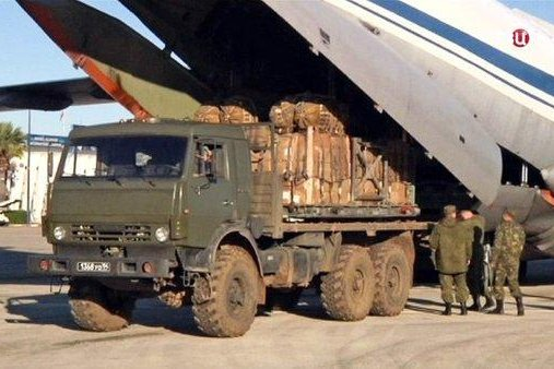 Russia is using the Syrian cease-fire to deliver humanitarian aid, but warned Monday is is willing to act unilaterally to police the cease-fire. Photo courtesy of Russian Foreign Ministry/Twitter