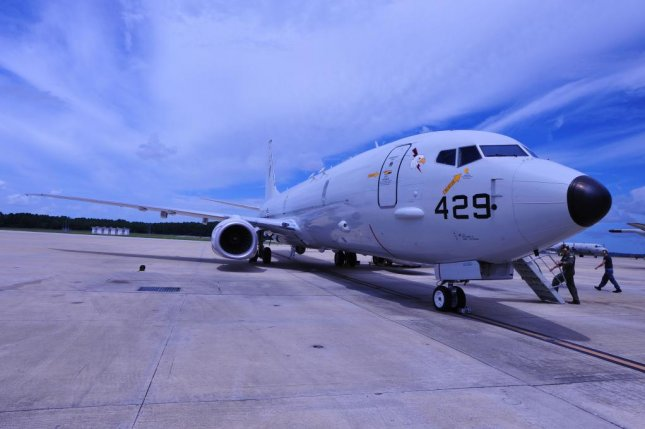 The Boeing P-8A Poseidon is designed to replace the P-3C Orion as the U.S. Navy's long-range anti-submarine and anti-surface warfare aircraft. U.S. Navy photo by Mass Communication Specialist 2nd Class Salt Cebe