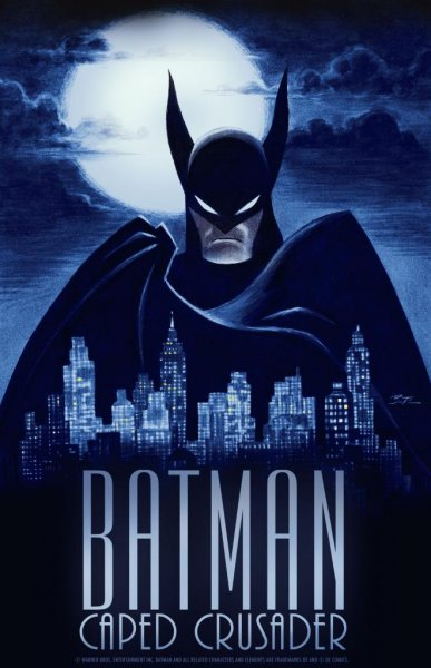 Promotional artwork for upcoming animated series Batman: Caped Crusader, which is heading to HBO Max and Cartoon Network. Image courtesy of HBO Max