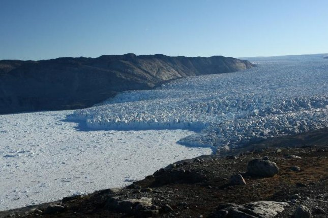 Over longer time-scales, the correlation between global warming and glacial retreat along the Greenland coast remains strong. Photo by University of St. Andrews