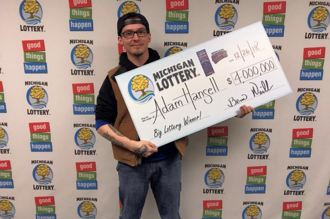 A Michigan man who won $30 from a scratch-off lottery ticket decided to use the money to play again and ended up with a $4 million jackpot. Photo courtesy of Michigan Lottery