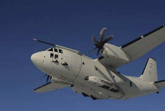 Northrup Grumman Australia and Leonardo S.p.A. signed a memorandum of understanding on Wednesday calling for joint bidding on contracts pertinent to the C-27J troop transport plane for the Royal New Zealand Air Force. Photo courtesy of Leonardo S.p.A.
