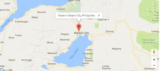 Eight Islamic State fighters escaped from a jail in the Philippines Saturday in what is thought to be a staged raid. Map from Google Maps
