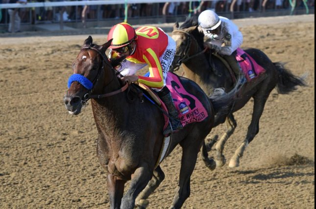 McKinzie cruises to victory in Saturday's Grade I Whitney at Saratoga, headed back to Breeders' Cup Classic. Photo by Chelsea Durand, courtesy of New York Racing Association