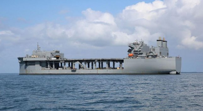 The expeditionary sea base USS Hershel Woody Williams will be homeported in Souda Bay, Greece, the U. S. Navy announced this week. Photo by Bill Mesta/U.S. Navy