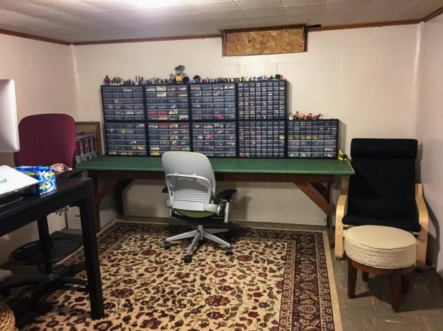 Brian Richards is seeking the return of his $7,000 Lego collection, pictured here, after it was stolen from his Michigan home earlier this week. 