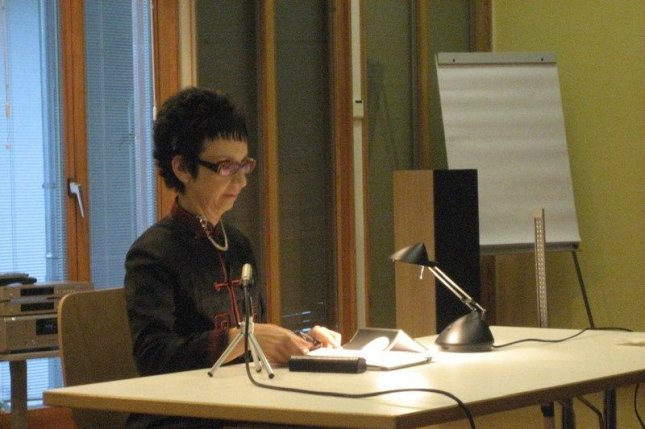 Avital Ronell, a New York University professor of German and comparative literature was suspended for inappropriate physical contact involving a former student. Photo courtesy Wikipedia Commons