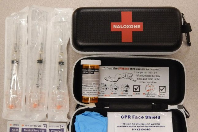 Only 2 percent of Americans at risk of an opioid overdoes are prescribed the lifesaving drug naloxone get it, according to a data analysis. Photo by James Heilman, MD/Wikimedia Commons