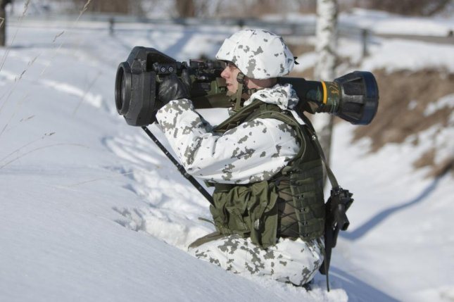 During recent military exercises, Swedish and Finnish forces used the Next generation Light Anti-Tank Weapon system, or NLAW, which the Finnish Defense Forces recently placed a new order for with Saab. Photo courtesy of Saab