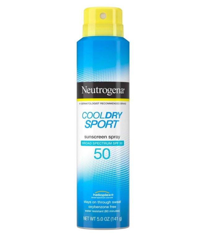 Neutrogena Cool Dry Sport is one of five aerosol sunscreens recalled Wednesday by Johnson & Johnson.Photo courtesy of Johnson & Johnson