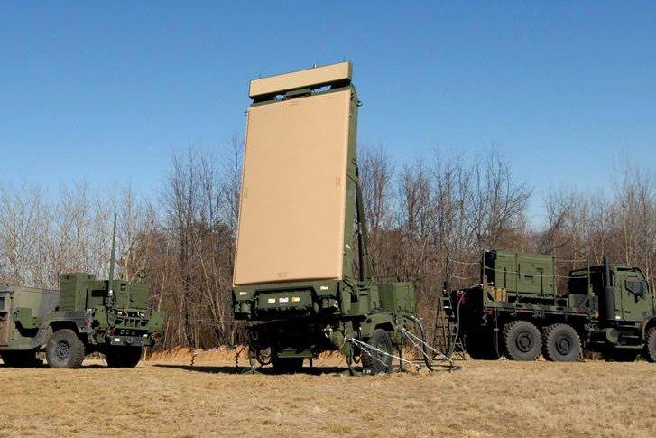 The U.S. Marines' G/ATOR radar system. Photo courtesy of Northrop Grumman