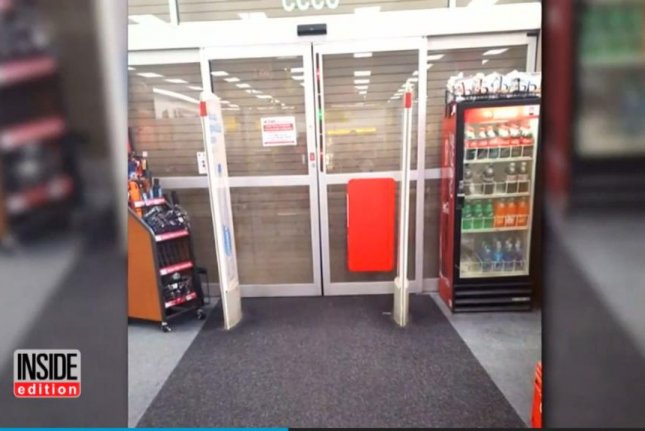 A Florida woman shopping at a CVS store in St. Cloud was preparing to check out when she realized she was alone and locked inside the store. Screenshot: Inside Edition