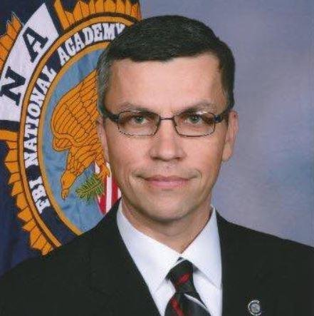 Newport, Ark., police reported that a suspect in the shooting death of Police Lt. Patrick Weatherford was apprehended late Monday. Weatherford was shot during a routine traffic stop on Monday. Photo courtesy of Little Rock Police Department