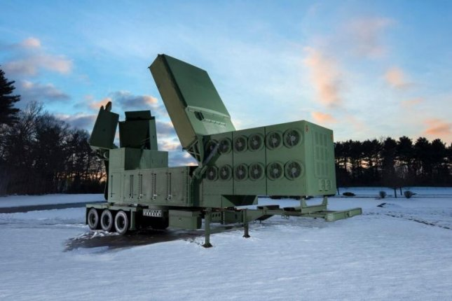 Raytheon announced Friday that it has finished building the first radar antenna array for the U.S. Army's Lower Tier Air and Missile Defense Sensor. Photo courtesy of Raytheon