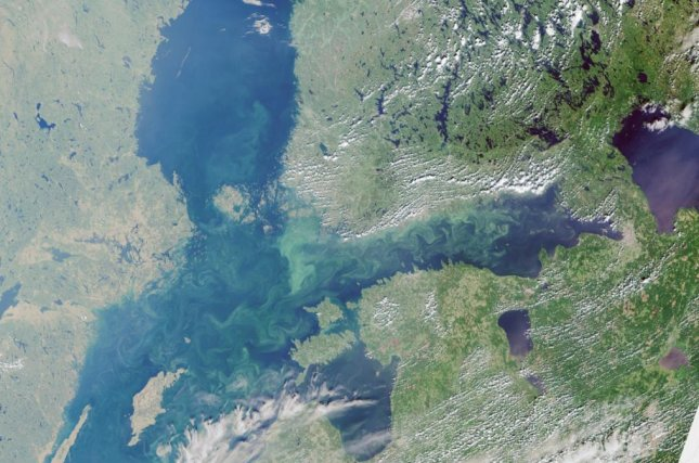 The Baltic Sea hosts some of the largest marine dead zones in world, and researchers say the nations surrounding it are not living up to an agreement to limit pollution. Photo by ESA Copernicus Sentinel