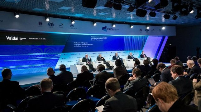 Politicians and experts from 35 countries, including Russia, the United States, China, India and Australia are meeting in Sochi this week for the annual Valdai Discussion Club. Photo courtesy of Valdai Discussion Club