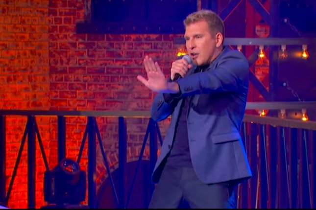 Reality star Todd Chrisley performs Blurred Lines during his appearance on Spike TV's Lip Sync Battle. Screenshot photo by Spike TV/YouTube