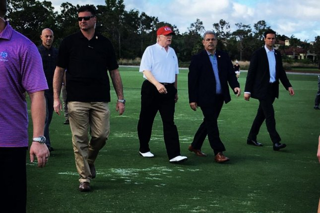 Trump Golfs With Tiger Woods & Dustin Johnson