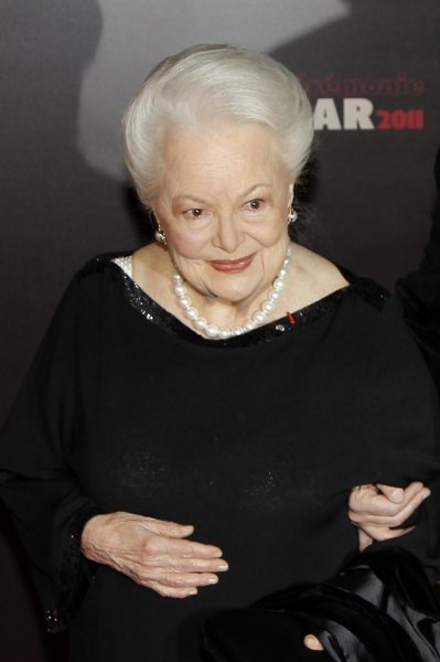 Actress Olivia De Havilland. The Hollywood star's lawsuit against FX's Feud has been thrown out by an appeals court. File Photo by Ian Langsdon/EPA