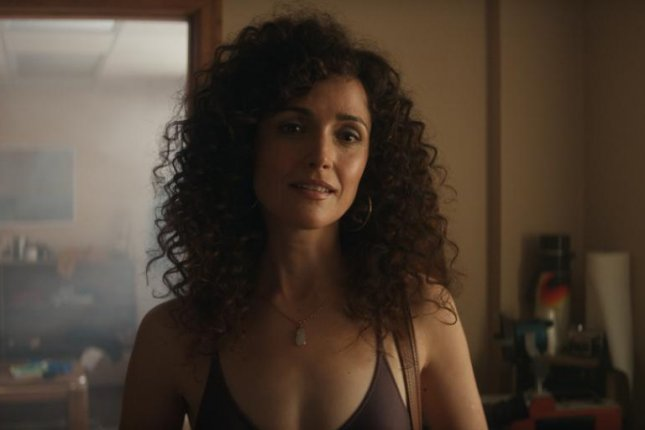 Rose Byrne in Physical, a new dramedy coming to Apple TV+ globally this summer. Image courtesy of Apple TV+