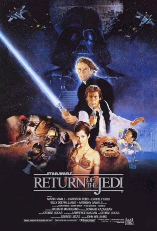 'Star Wars: Episode VII' will pick up where 'Star Wars Episode VI: Return of the Jedi' left off. (Lucasfilm/20th Century Fox)