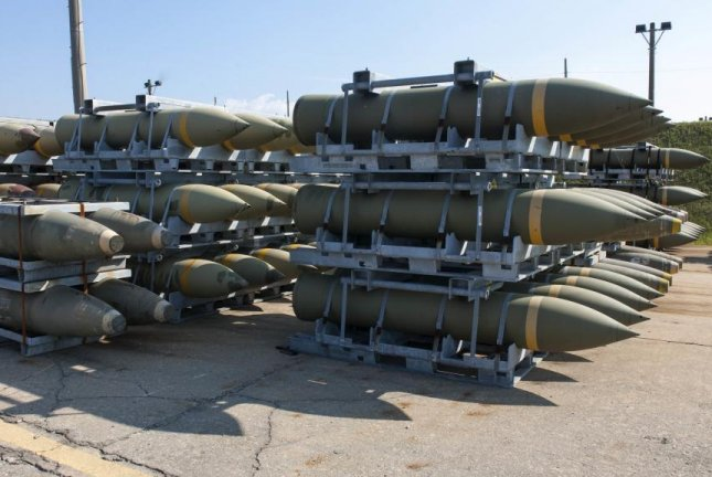 The U.S. State Department has approved a $785 million arms sale to the United Arab Emirates for munitions, sustainment and support, the Defense Security Cooperation Agency announced Tuesday. The sale includes 500 BLU-109 munitions, shown here. U.S. Air Force photo by Senior Airman Katrina Heikkinen