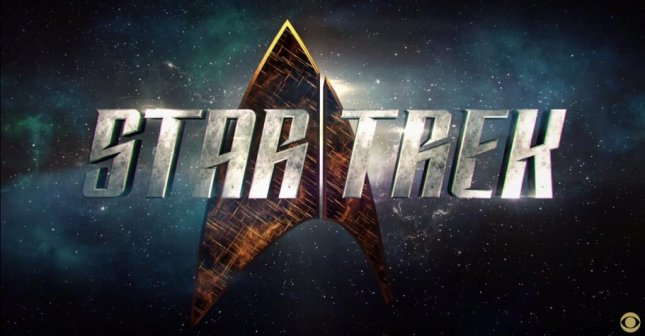 The new logo for CBS's upcoming Star Trek television series. Photo courtesy of CBS/Youtube