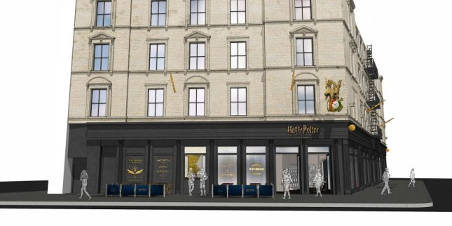A Harry Potter-themed store is set to open in New York this summer. Image courtesy of Warner Bros.