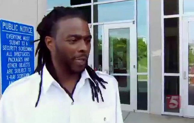 Orlando Shaw, 33, fathered 22 children with 14 women, making him Tennessee's most expensive child support case. (Screenshot via WTVF-TV)