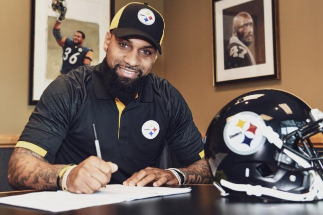 Wide receiver Donte Moncrief played out a one-year contract in 2018 with the Jacksonville Jaguars before signing with the Pittsburgh Steelers on Thursday. Photo courtesy of the Pittsburgh Steelers/Twitter