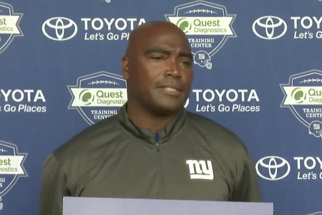 Cleveland Browns wide receivers coach Adam Henry. Photo courtesy of the New York Giants/Twitter.