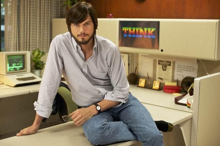 Photo of Ashton Kutcher in jOBS, courtesy of Open Road Films.