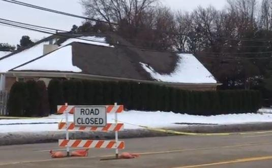 250-foot-long sinkhole opens up in Michigan town, forcing 22