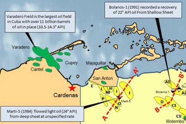 More oil likely in Cuba