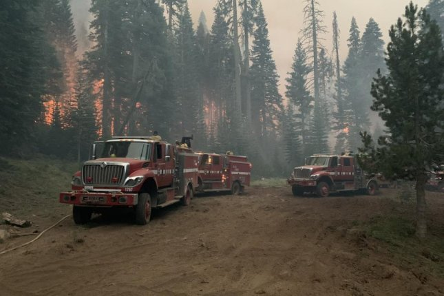 The Dixie Fire grew to more than 208,000 acres as of Tuesday morning. Photo courtesy of Cal Fire CZU