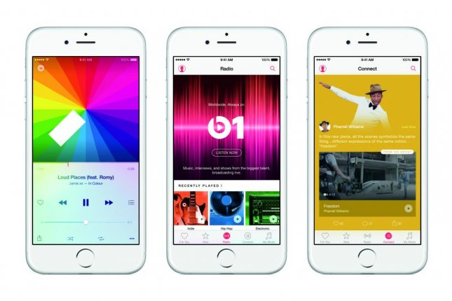 Apple announced its new paid streaming service, Apple Music, on Monday. Photo courtesy Apple