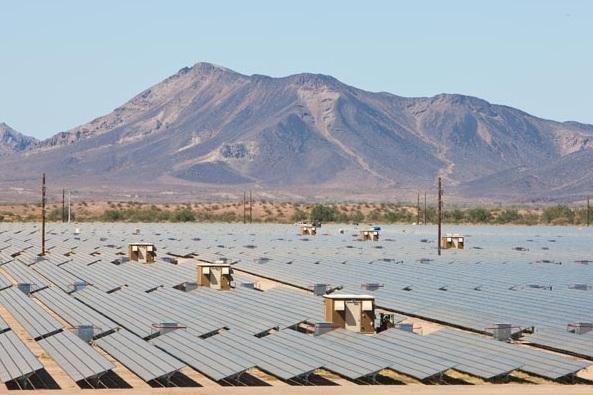 Arizona desert gets largest solar panel array in the world